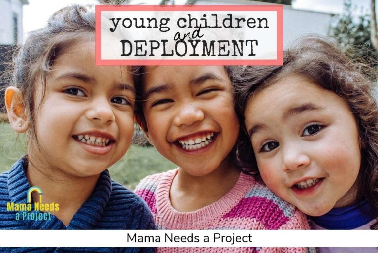 Keeping young children connected during deployment