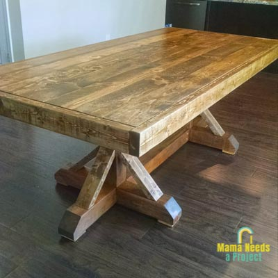 tips for building your own dining room table