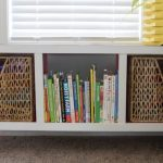 DIY Modern Cubby Shelf