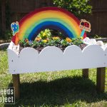 Rainbow Toddler Garden Tutorial