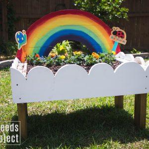rainbow toddler garden featured image