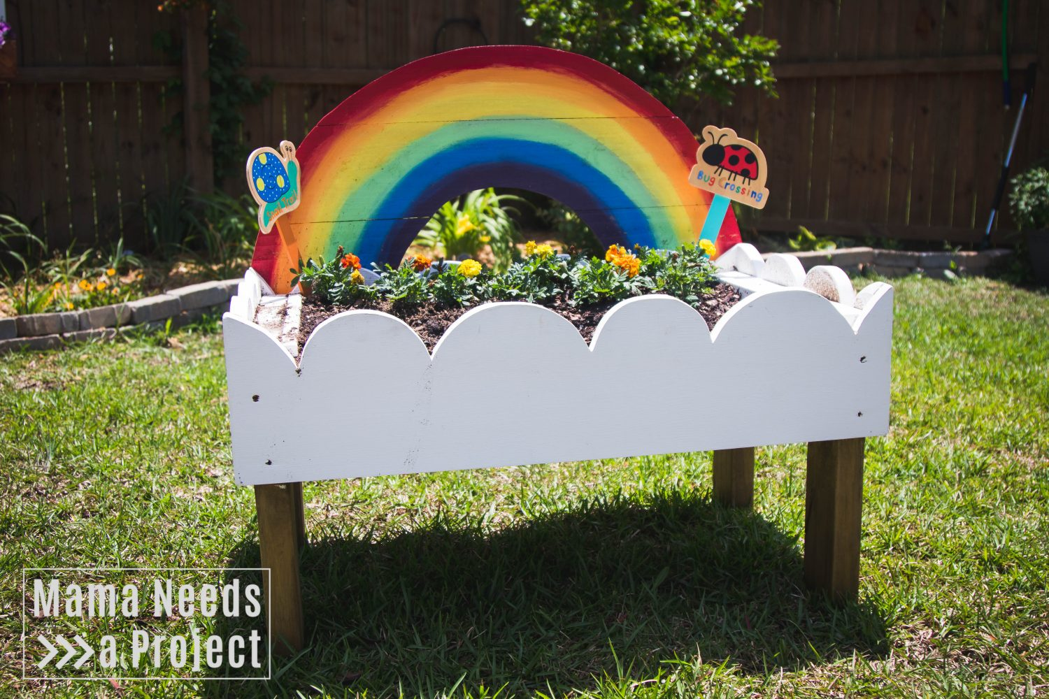 rainbow toddler garden featured image