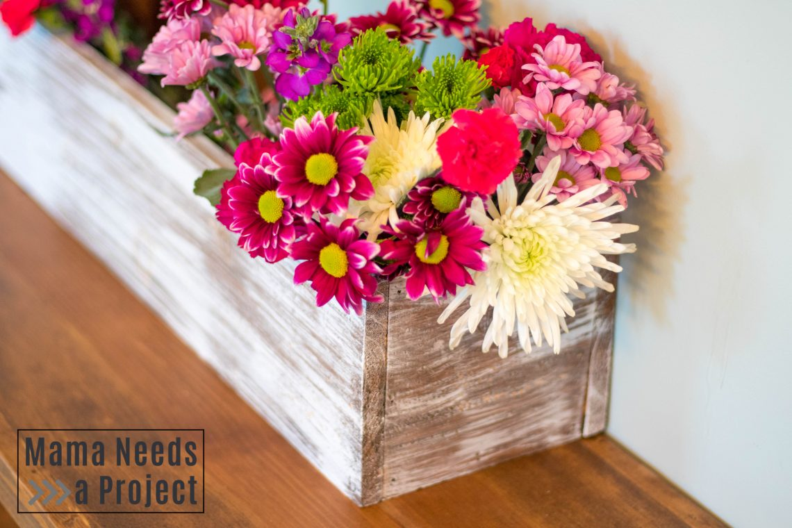 DIY Wedding Centerpiece Box featured image