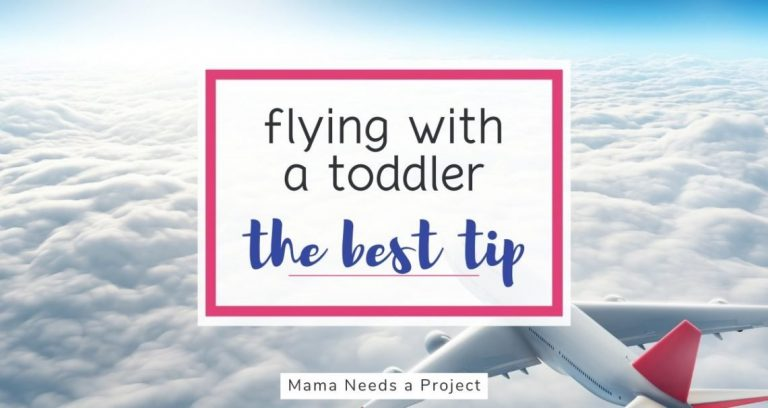 The ONE THING that totally changed how I fly with my toddler