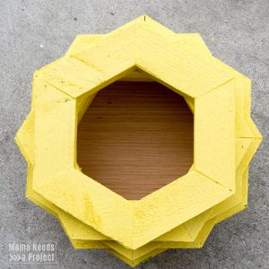 diy pineapple planter woodworking tutorial with plant shelf