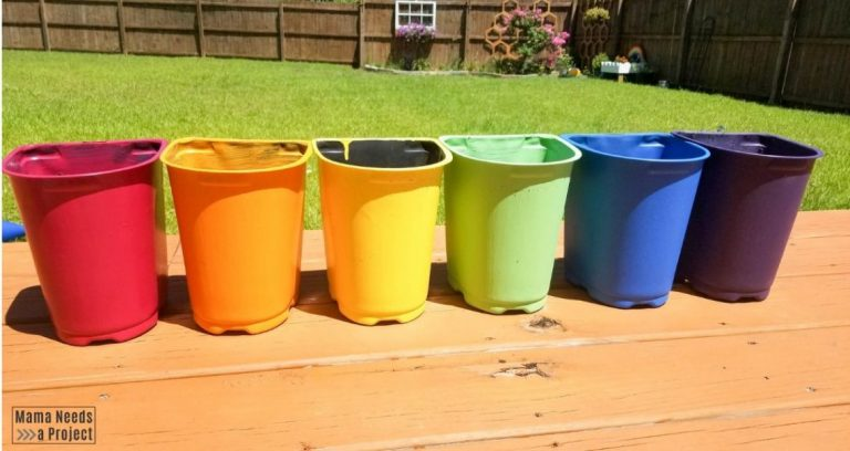 Upcycled Plastic Nursery Pots
