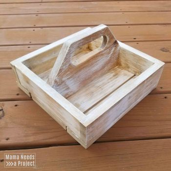diy square caddy woodworking plans