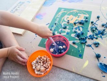 How to Colorwash Wooden Beads-3