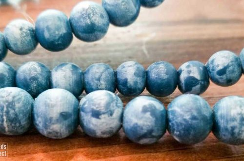 how to colorwash wooden beads featured image