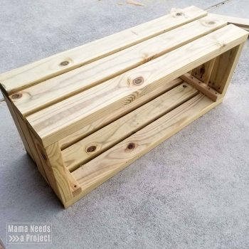 outdoor toy storage shelf box construction