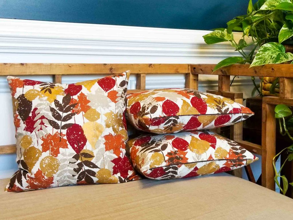 secondhand fabric pillows