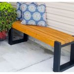 Simple 2x4 Bench Plans | Build an EASY Modern Bench