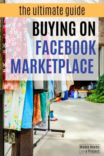 The Ultimate Guide to Buying on Facebook Marketplace Pin 2