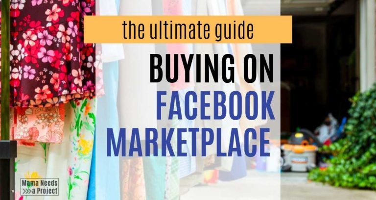The Ultimate Guide to Buying on Facebook Marketplace