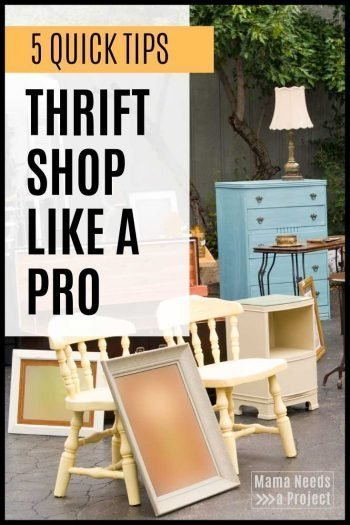 5 quick tips thrift shop like a pro