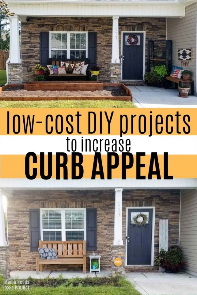 low cost diy projects to increase curb appeal