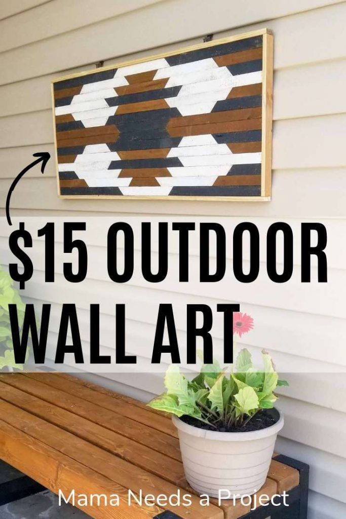 $15 outdoor wall art