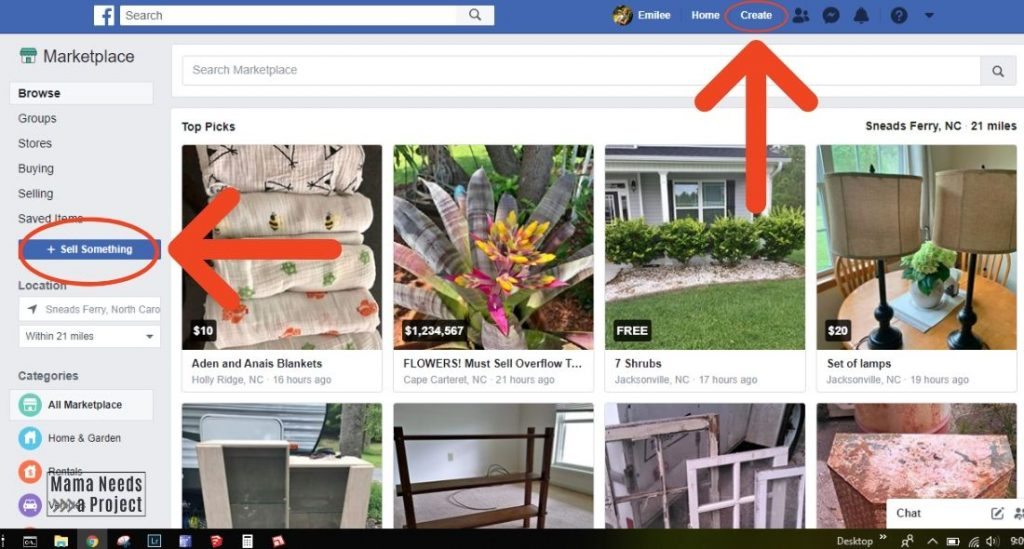 how to create a listing to learn how to sell on facebook marketplace