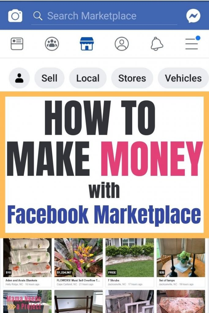 how to make money with facebook marketplace