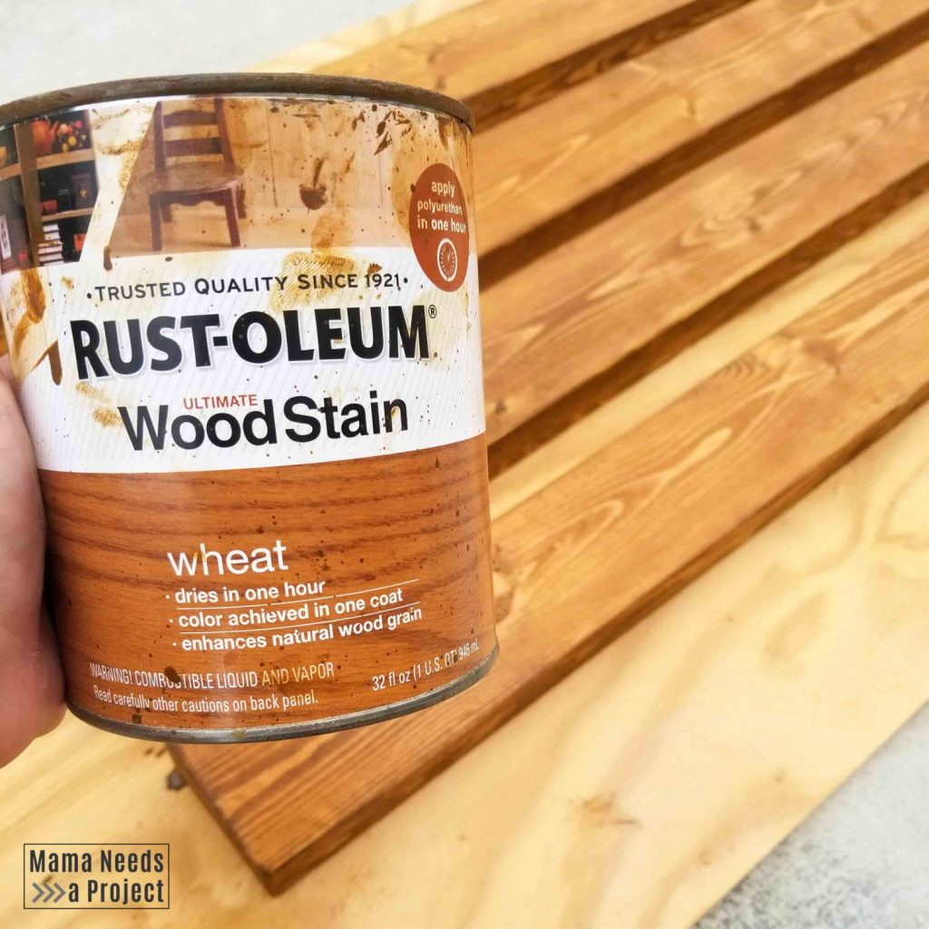 rustoleum wheat stain