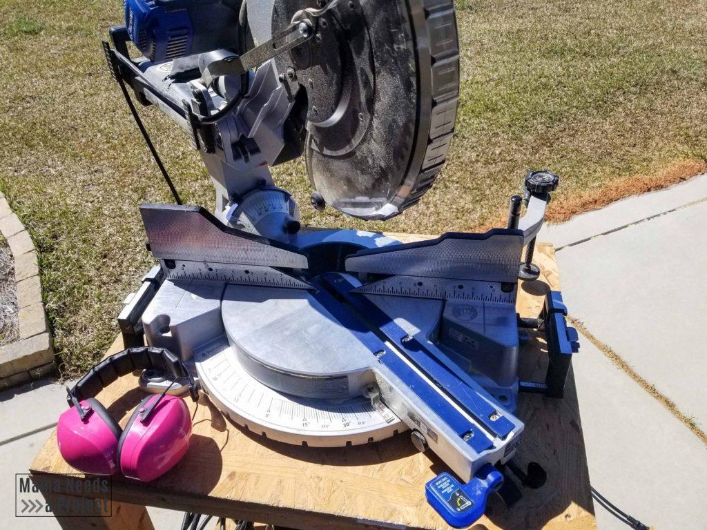 10 money saving woodworking tips, miter saw