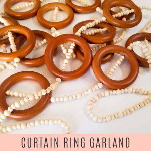 curtain ring garland