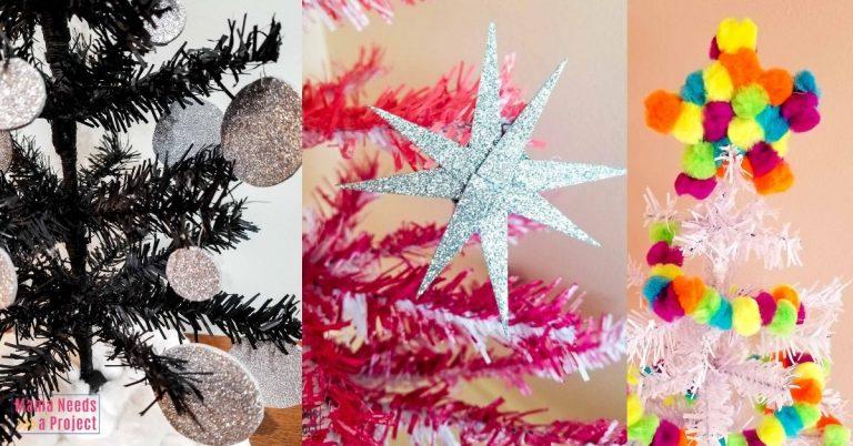 3 AMAZING DIY Mini Christmas Tree Makeovers