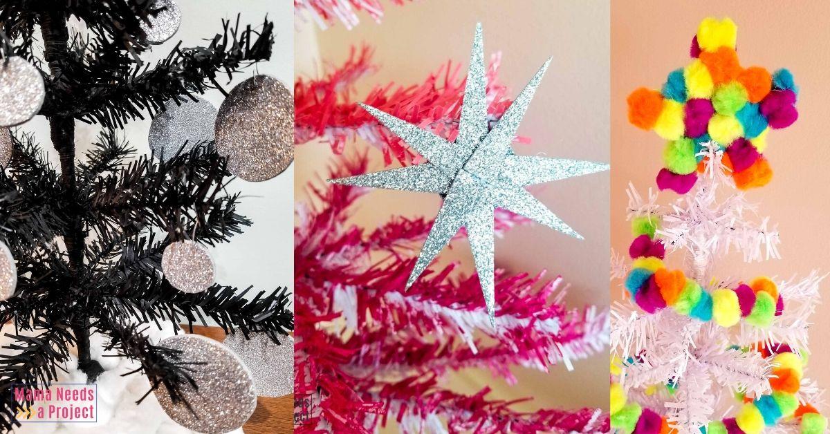 three amazing mini christmas tree makeovers
