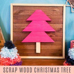 scrap wood christmas tree