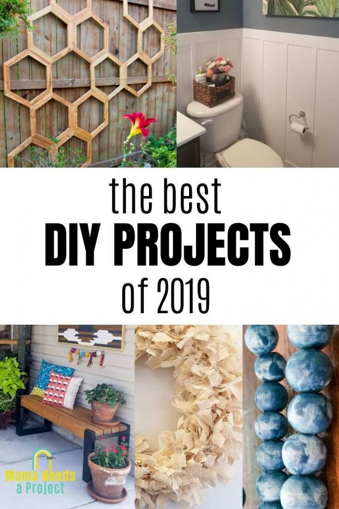 the best DIY projects of 2019, images of projects