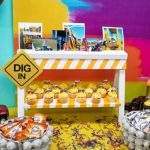 Roadblock Cupcake Stand | DIY Construction Theme  Birthday Party