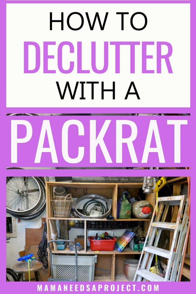 decluttering with a reluctant spouse