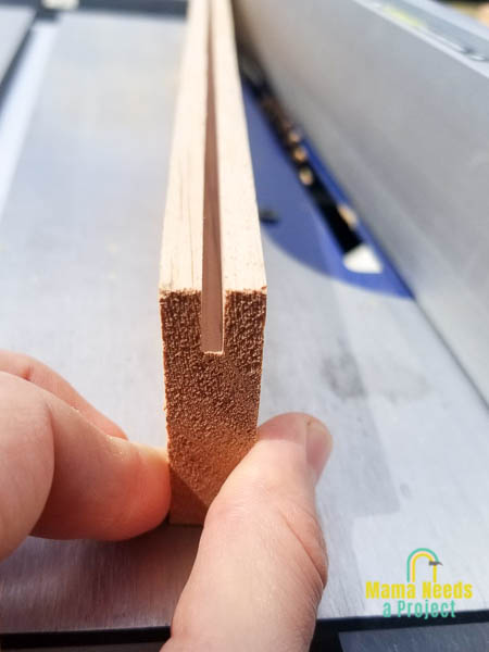 cut grooves into 1x3 boards