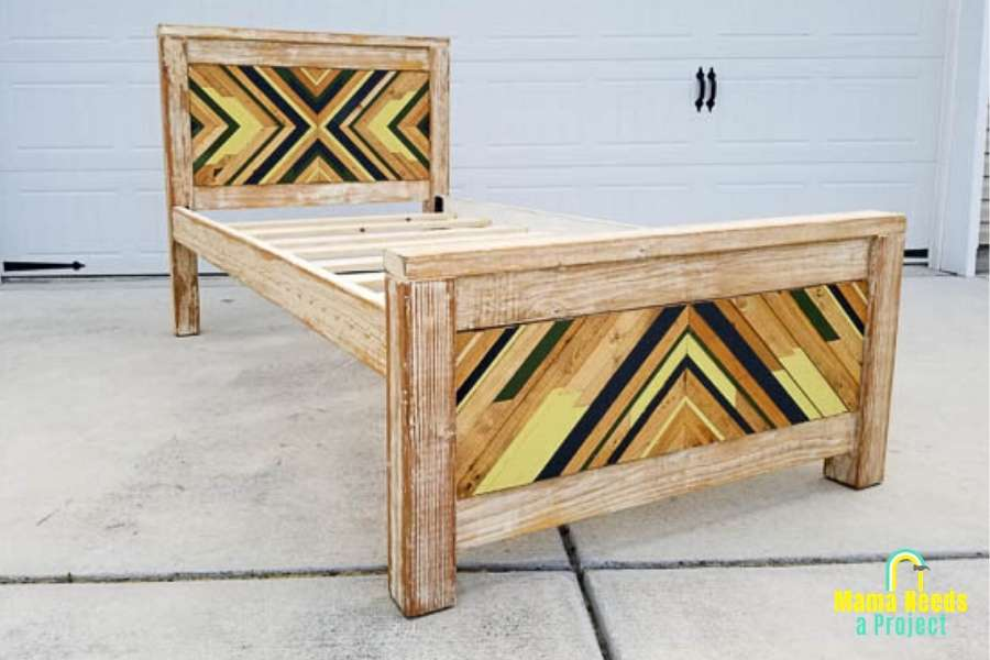 DIY bed woodworking projects to build for kids