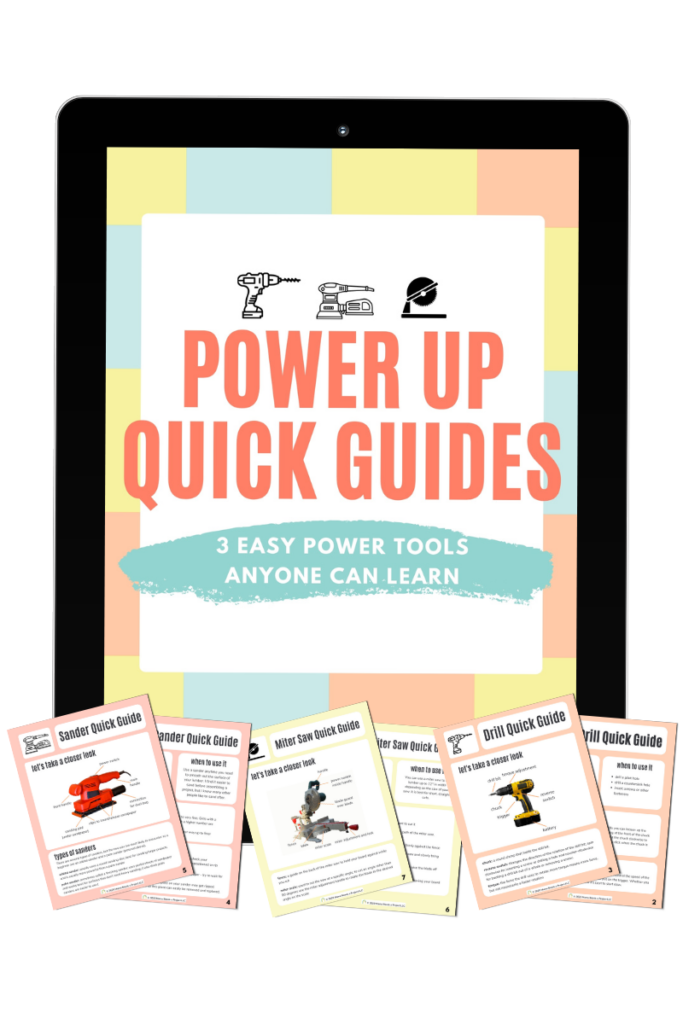 power up quick guides mock up