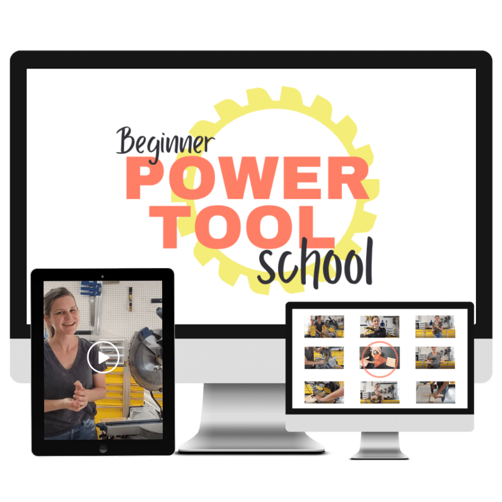 Beginner Power Tool School square mock up