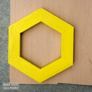diy pineapple planter woodworking tutorial cut plywood for shelf