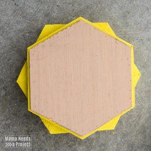 diy pineapple planter woodworking tutorial plywood shelf