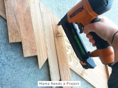 diy cedar fence board flower box